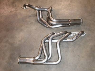 Exhaust - Headers - Stainless Works - Chevrolet Monte Carlo Stainless Works Exhaust Header - CV6872SB