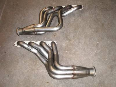 Exhaust - Headers - Stainless Works - Chevrolet Chevelle Stainless Works Exhaust Header - CVBB178