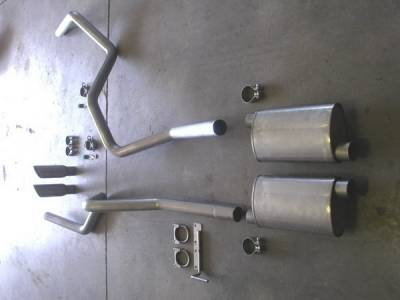 Exhaust - Headers - Stainless Works - Ford F150 Stainless Works Exhaust Header - FT09CBHDR