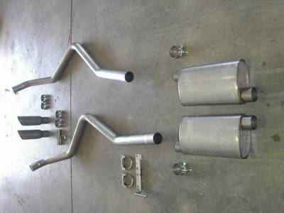 Exhaust - Headers - Stainless Works - Ford F150 Stainless Works Exhaust Header - FT09CBRTHDR