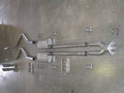 Exhaust - Headers - Stainless Works - Ford F150 Stainless Works Exhaust Header - FT09CBYRT