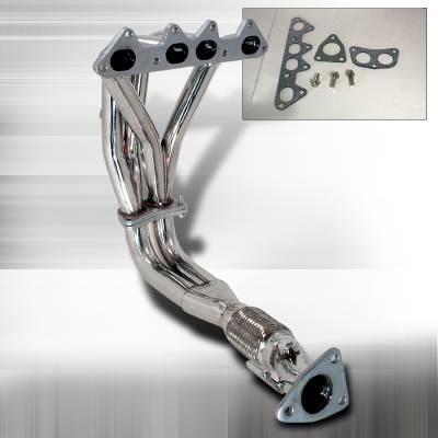 Exhaust - Headers - Spec-D - Honda Accord 2DR Spec-D Header - HH2-ACD984C-DK