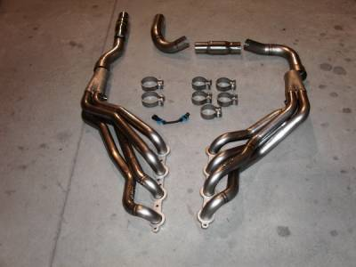 Exhaust - Headers - Stainless Works - Chevrolet Trail Blazer Stainless Works Exhaust Header - TBSS