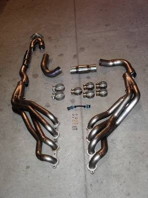 Exhaust - Headers - Stainless Works - Chevrolet Trail Blazer Stainless Works Exhaust Header - TBSSY