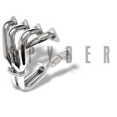 Exhaust - Headers - Spyder Auto - Honda Accord Spyder 4-2-1 Exhaust Header - Chrome - TS-HE-HA03-C