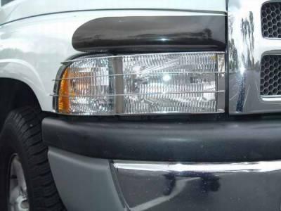 Headlights & Tail Lights - Headlight Covers - TFP - TFP Stainless Steel Headlight Insert Guard - 920
