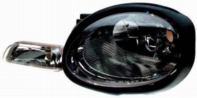 Headlights & Tail Lights - Headlights - TYC - TYC Euro Clear Headlights with Parking Lights - 80621101