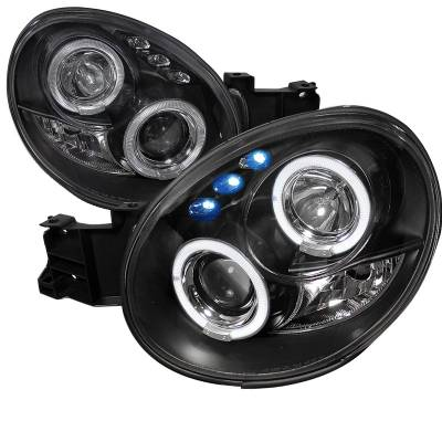 Headlights & Tail Lights - Headlights - Spec-D - Subaru WRX Spec-D Projector Headlights - LHP-WRX02JM-TM