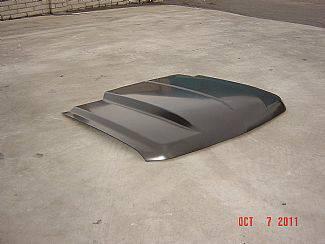 Silverado - Hoods - Street Scene - Chevrolet Silverado Street Scene Steel Cowl Induction Style Hood - 950-71129