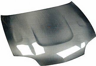 Cavalier 2Dr - Hoods - Street Scene - Chevrolet Cavalier Street Scene Vent Style Carbon Fiber Hood - 950-72136