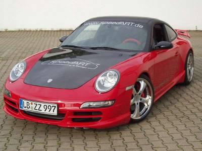 911 - Hoods - SpeedArt - Carbon Fiber Hood