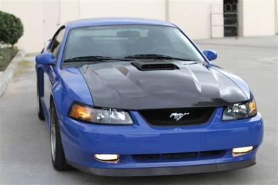 Mustang - Hoods - TruFiber - Ford Mustang TruFiber Carbon Fiber Mach 1 Hood TC10023-A65