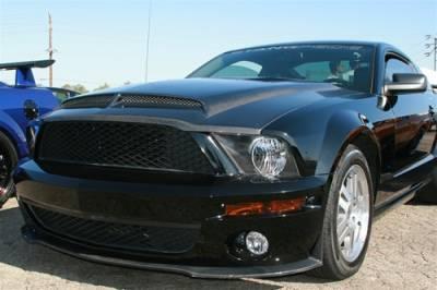 Mustang - Hoods - TruFiber - Ford Mustang TruFiber Carbon Fiber GT500 GT-S V.4 Hood TC10024-A53KR