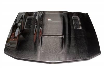 Mustang - Hoods - TruFiber - Ford Mustang TruFiber Carbon Fiber SVO Hood TC10024-A61