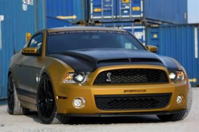 Mustang - Hoods - TruFiber - Ford Mustang TruFiber Carbon Fiber GT500 A53KR Hood TC10025-A53KR