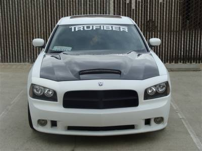 TruFiber - Dodge Charger TruFiber Carbon Fiber Six Pack Hood TC20020-A9