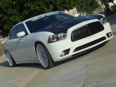 Charger - Hoods - TruFiber - Dodge Charger TruFiber Carbon Fiber Challenger Hood TC20021-A58