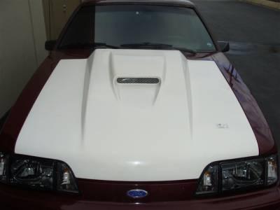 "Mustang - Hoods - TruFiber - Ford Mustang TruFiber 3"" Cobra R SVO Hood TF10021-A37"