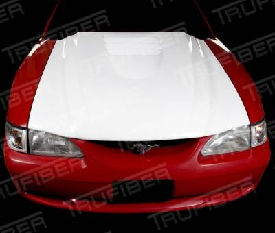 Mustang - Hoods - TruFiber - Ford Mustang TruFiber Cobra R Hood TF10023-A31