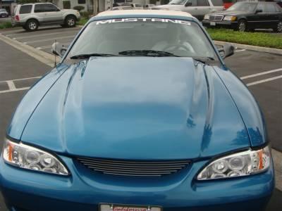 Mustang - Hoods - TruFiber - Ford Mustang TruFiber Cobra RR Hood TF10023-A32