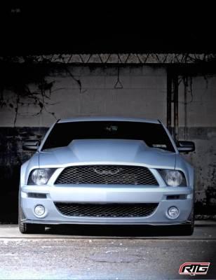 "Mustang - Hoods - TruFiber - Ford Mustang TruFiber GT500 3"" Cowl Hood TF10024-A49-3KR"