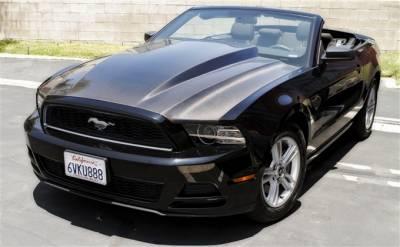 "Mustang - Hoods - TruFiber - Ford Mustang TruFiber 3"" Cowl Hood Hood TF10025-A49-3KR"
