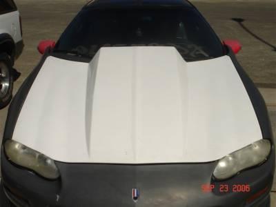 "Camaro - Hoods - TruFiber - Chevy Camaro TruFiber 4"" Cowl Hood TF30021-A49-4"