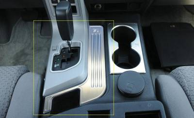 Car Interior - Interior Trim Kits - T-Rex - Toyota Tundra T-Rex T1 Series Billet Interior Center Console Trim - Brushed - 11959