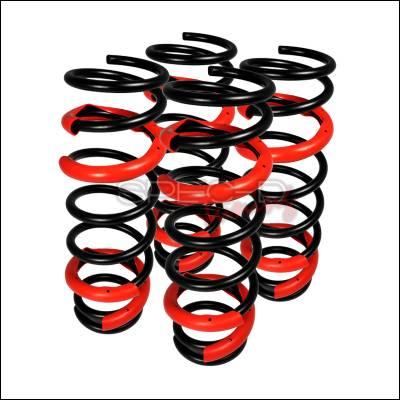 Suspension - Lowering Springs - Spec-D - Honda Civic Spec-D Lowering Springs - CL-CV96-RS
