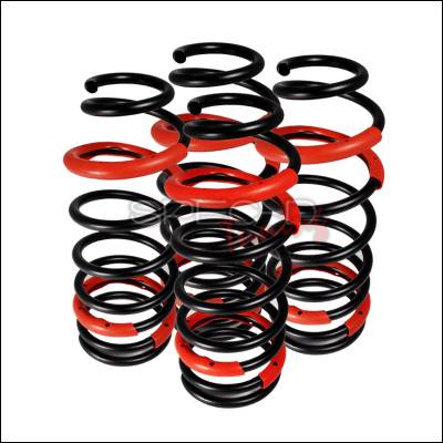 Suspension - Lowering Springs - Spec-D - Mitsubishi Eclipse Spec-D Lowering Springs - CL-ELP00-RS