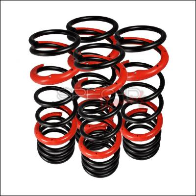 Suspension - Lowering Springs - Spec-D - Nissan 240SX Spec-D Lowering Springs - CL-S1495-RS