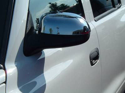 Durango - Mirrors - TFP - TFP Chrome ABS Mirror Insert Accent - Non Pivot - Non Heated - 519