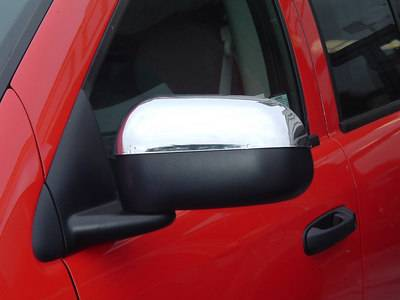 Durango - Mirrors - TFP - TFP Chrome ABS Mirror Insert Accent - 529