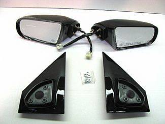 Astro Van - Mirrors - Street Scene - Chevrolet Astro Street Scene Cal Vu Electric Mirrors - Pair - 950-11440