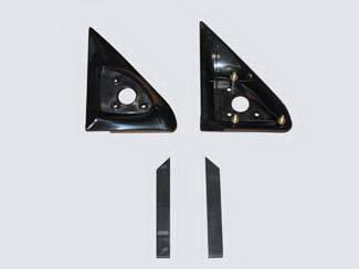 C/K Truck - Mirrors - Street Scene - Chevrolet CK Truck Street Scene Cal Vu Replacement Mirror Side Plates - Pair - 950-13110