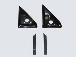 Escalade - Mirrors - Street Scene - Cadillac Escalade Street Scene Cal Vu Replacement Mirror Side Plates - Pair - 950-13110