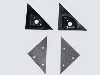 I370 - Mirrors - Street Scene - Isuzu I-370 Street Scene Cal Vu Replacement Mirror Side Plates - Pair - 950-13211