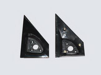 Safari - Mirrors - Street Scene - GMC Safari Street Scene Cal Vu Replacement Side Plates - Pair - 950-13410