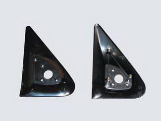 Denali - Mirrors - Street Scene - GMC Denali Street Scene Cal Vu Replacement Side Plates - Pair - 950-13950