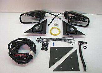 S10 - Mirrors - Street Scene - Chevrolet S10 Street Scene Cal Vu Manual Mirror to Electric Mirror Kit - 950-14220