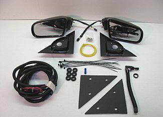 S15 - Mirrors - Street Scene - GMC S15 Street Scene Cal Vu Manual Mirror to Electric Mirror Kit - 950-14220