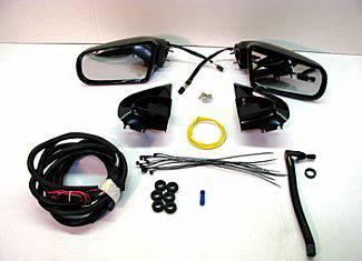 I290 - Mirrors - Street Scene - Isuzu I-290 Street Scene Cal Vu Manual Mirror to Electric Mirror Kit - 950-14245