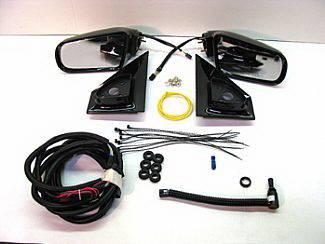 Safari - Mirrors - Street Scene - GMC Safari Street Scene Cal Vu Manual Mirror to Electric Mirror Kit - 950-14420