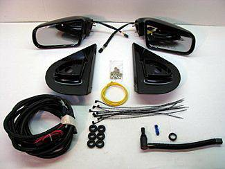 Sierra - Mirrors - Street Scene - GMC Sierra Street Scene Cal Vu Manual Mirror to Electric Mirror Kit - 950-14924
