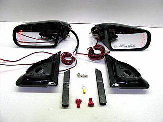 C/K Truck - Mirrors - Street Scene - Chevrolet CK Truck Street Scene Cal Vu Electric Mirrors with Rear Signals Kit - 950-15120