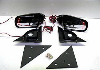 S15 - Mirrors - Street Scene - GMC S15 Street Scene Cal Vu Manual Mirrors with Rear Signal Mirror Kit - 950-15210