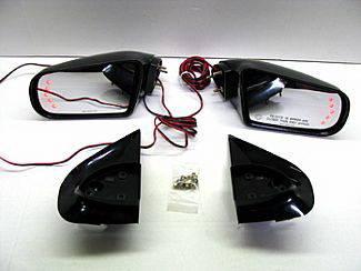 I290 - Mirrors - Street Scene - Isuzu I-290 Street Scene Cal Vu Manual Mirrors with Rear Signal Mirror Kit - 950-15211