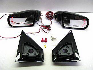 Astro Van - Mirrors - Street Scene - Chevrolet Astro Street Scene Cal Vu Manual Mirrors with Rear Signal Mirror Kit - 950-15410