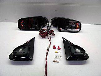 Tahoe - Mirrors - Street Scene - Chevrolet Tahoe Street Scene Cal Vu Electric Mirrors with Rear Signals Kit - 950-15920
