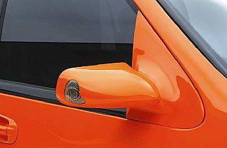 I370 - Mirrors - Street Scene - Isuzu I-370 Street Scene Cal Vu Manual Mirrors with Front & Rear Signals Kit - 950-25211